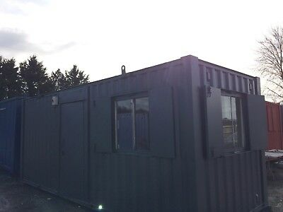 21 x 8ft Site Cabin / Site Office / Portable Building / Canteen / 3200 +VAT