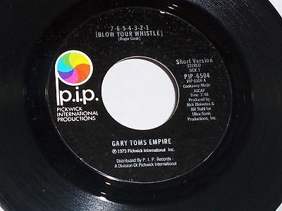Gary Toms Empire: 7 6 5 4 3 2 1 (Blow Your Whistle) / disco vers [Unplayed Copy]