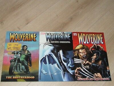 Wolverine TPB (2003-2004 Marvel) By Greg Rucka Volumes 1, 2 & 3