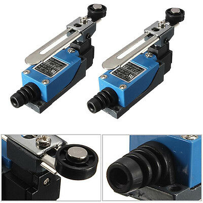 Limit Switch Rotary Adjustable Roller Lever Arm Mini Limit Switch Momentary JDUK