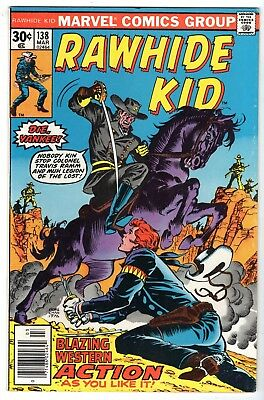 Rawhide Kid #138, Very Fine Condition
