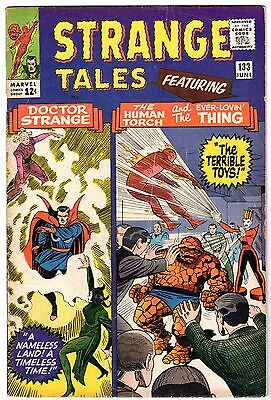 Strange Tales #133 with Human Torch & Dr. Strange, Fine Condition'