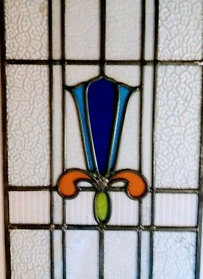 Stained Glass Panel - Rescued and restored -   Ref 179