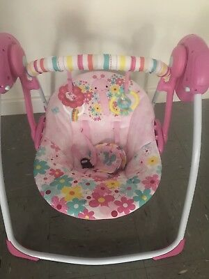 BRIGHT STARTS SWING Pink BUTTERFLY