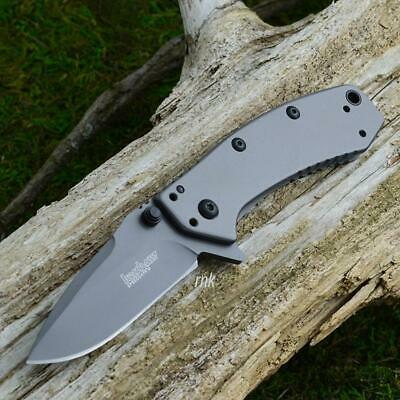 Kershaw Cryo Hinderer Assisted Opening Framelock Knife 1555TI