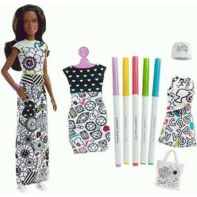 Barbie Crayola Color-in Fashions, Brunette