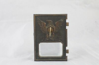 Antique Postal Door Post Office Door Mail Box 1895 Yale & Towne Eagle Key