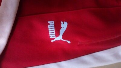 fe504d37327f Puma  archive Heroes T7  Track Pant Ribbon Red   White Stripe Tracksuit  Bottoms