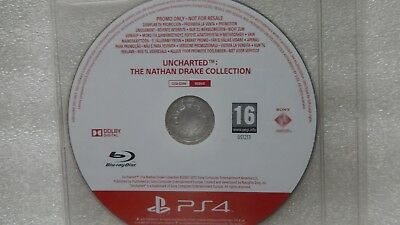 Uncharted The Nathan Drake Collection PS4 PROMO Game Rare for Sony PlayStation 4