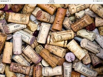 150 Natural Wine Corks, Used. No Synthetic, No Champagne.