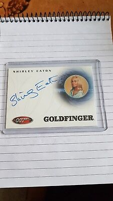 Rittenhouse James Bond 40Th Anniversary Autograph Auto A3 Shirley Eaton