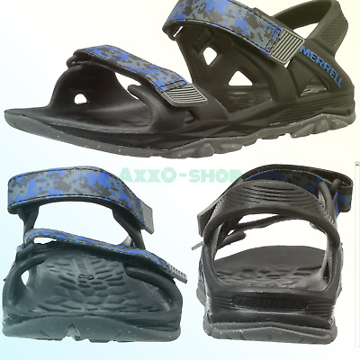 823d0eb800e9 Merrell Hydro Drift Water Sandal (Toddler Little Kid Big Kid) Black