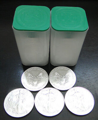 2019 Silver American Eagles   -   From Sealed Mint Tubes  - How Many?