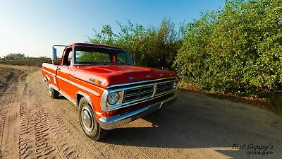 1972 Ford F-250  1972 Ford F-250 Original Paint EFI, Wilwood, LED Lights, Crazy low Miles