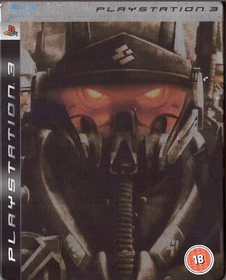 Used killzone 2 limited steel tin edition game ps3 on onbuy.