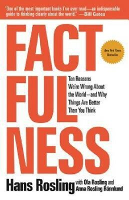 Factfulness by Hans Rosling Book Hardcover The Ten Reasons We're Wrong NEW