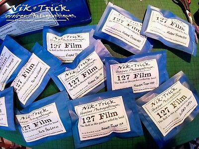 Fuji Velvia 50 - Hand rolled 127 Film ~ Process & Scan Pre-Paid