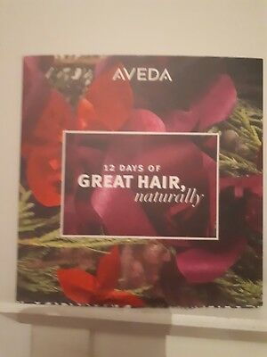 Brand new Aveda 12 Day of great hair  Advent Calendar ( 1st class posting