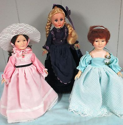Lot of Three Effanbee Dolls for One Price