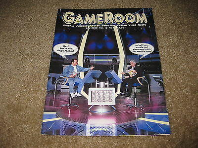 GameRoom Magazine - June 2000 Vol. 12 No. 6 - Game Rooms Regis Philbin