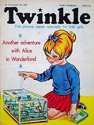 TWINKLE #43 - 16th NOVEMBER 1968 - SCARCE EARLY ISSUE !! FINE..bunty mandy beano