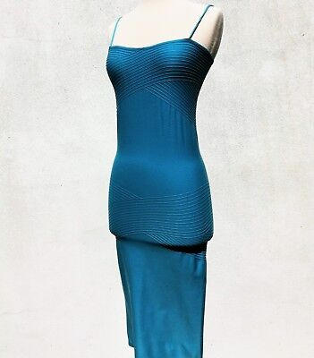 84ed70941dc WOLFORD FATAL DRESS in TAPIOCA - BODYCON TUBE STRAPLESS STRETCH SKIRT TOP -  MED.