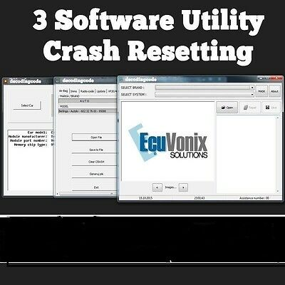 Software To Remove / Delete / Reset Airbag Srs Crash Data And Airbag Resitting
