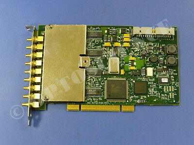 National Instruments PCI-4472 NI Sound and Vibration Device, 8 Input Channels