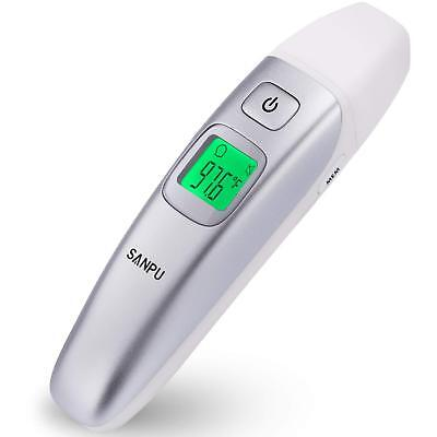 SANPU Digital Medical Infrared Forehead and Ear Thermometer for Baby Kids Adults