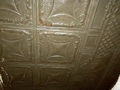 Antique Tin Ceiling Approx 1400 sqft Crown molding, trim & panels 1911 Building