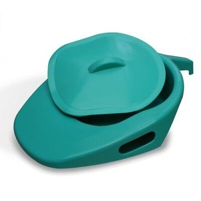 Spa Adult Slipper Pan With Handle And Lid, Capri, 449x309x99mm
