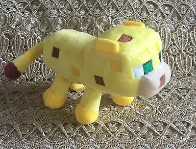 New Plush Yellow Ocelot ~ Perfect for any Minecraft fan