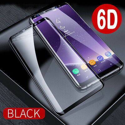 For Samsung Galaxy Note 10 9 8 S9/8 S10 6D Full Tempered Glass Screen Protector
