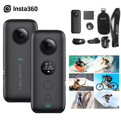 Insta360 ONE X 5.7K 18MP 360°Panoramic Action Camera for iPhone X XS XS Max F7V9