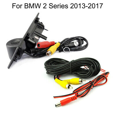 Car Trunk Handle and CCD Reverse Parking Camera For BMW 2 Series 2013-2017