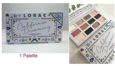 LORAC 💟 California Dreaming Eye Shadow Palette 12 Colors NEW free shipping 💟