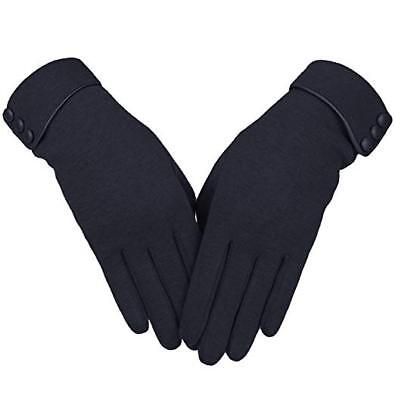 Women's Screen Gloves Warm Lined Thick Touch Warmer Winter Gloves