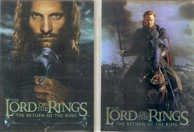 Topps 2003 Lord of the Rings: The Return of the King Bonus Foil Cards x 2