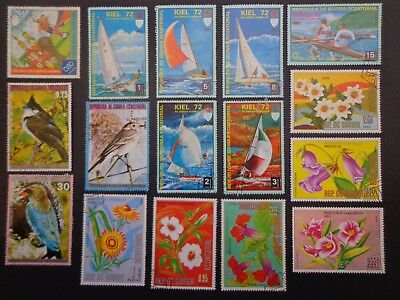 Repuelica De Guinea Ecuatorial.23 Stamps From Various Issues -:- Cto Un-Hinged.