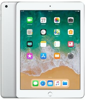 Apple iPad 2018 Wi-Fi 128GB MR7K2 - Silber (Global Ver.) Neu OVP