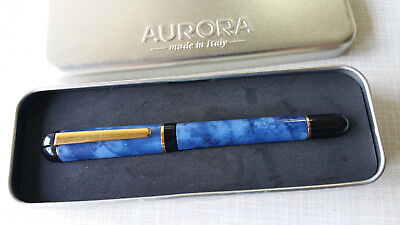 Aurora Idea Fountain pen Blue Marble