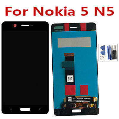 "For Nokia 5 N5 5.2"" LCD Display Touch Screen Digitizer Assembly Glass + Tools"