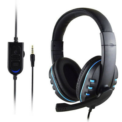 3.5mm Cuffie per Giochi Stereo Surround con Microfono PS3 PS4 Xbox Iphone