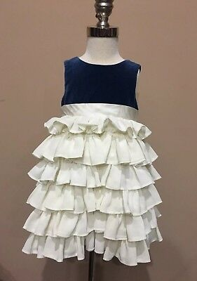 Clothing, Shoes & Accessories Baby & Toddler Clothing Janie And Jack Perfectly Posh Blue Bow Skirt Size 6-12 Months Elegant Appearance