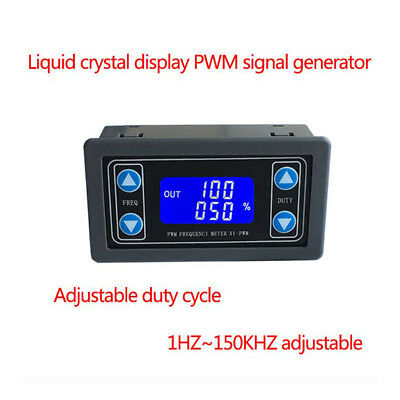 Signal Generator Module Adjustable PWM Pulse Frequency Duty Cycle Square Wave UK