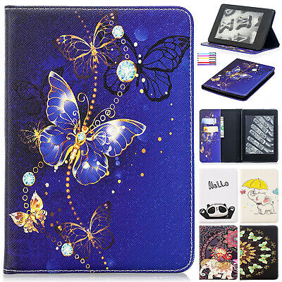 For Amazon Kindle Paperwhite 2018 Case HD 8 HD 10 Smart Flip Leather Stand Cover