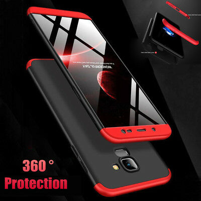 360 Full Body Hybrid Hard Armor Case Cover For Samsung Galaxy Note 9 S9 S8 Plus