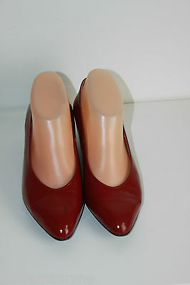 Court shoes SEDUCTA All Patent Leather Red Dark T 37.5 VERY GOOD CONDITION