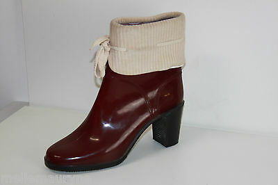 Boots booties Raincoats Bordeaux T 41 VERY GOOD CONDITION