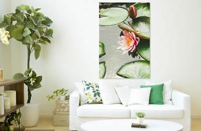BEAUTIFUL LOTUS SCENERY picture Canvas home wall choose your size